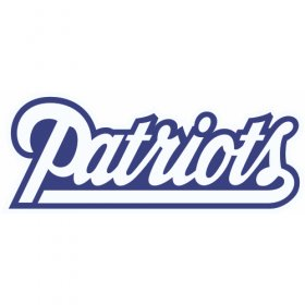 New England Patriots Script Logo 1993-1999 Iron On Transfers