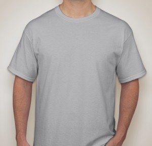 Gildan Ultra Cotton T-shirt – Ice Grey