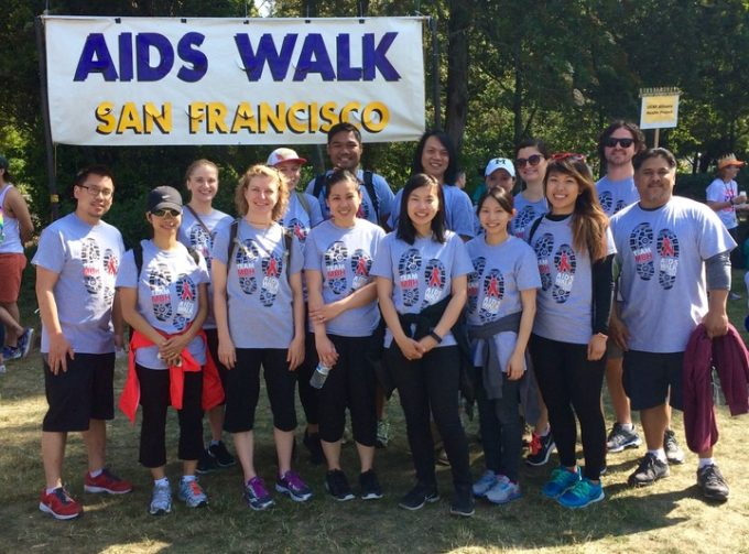 AIDS Walk Team Names iron on transfers